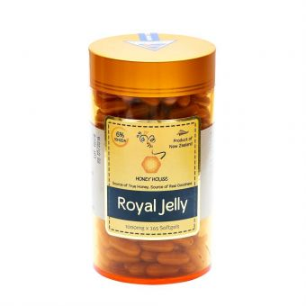 Honey House Royal Jelly Capsules 1000mg x 365caps (Best Before June 2023)