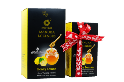 Honey Lemon Manuka Lozenges