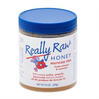 Really Raw® Honey 8oz (Best Before Oct 2021)