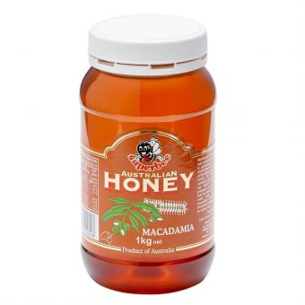 Superbee Macadamia Honey 1kg  (Best Before Jul 2021)